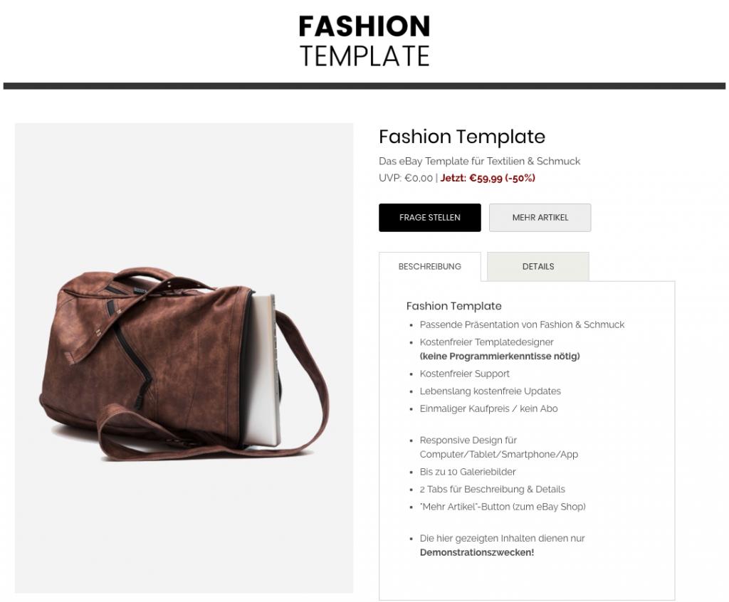 fashion-ebay-template